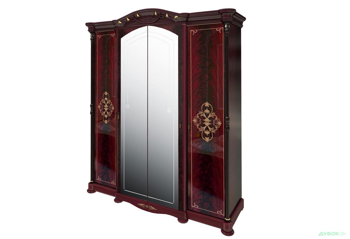 Модульная спальня Роселла Шкаф 4D с зеркалами