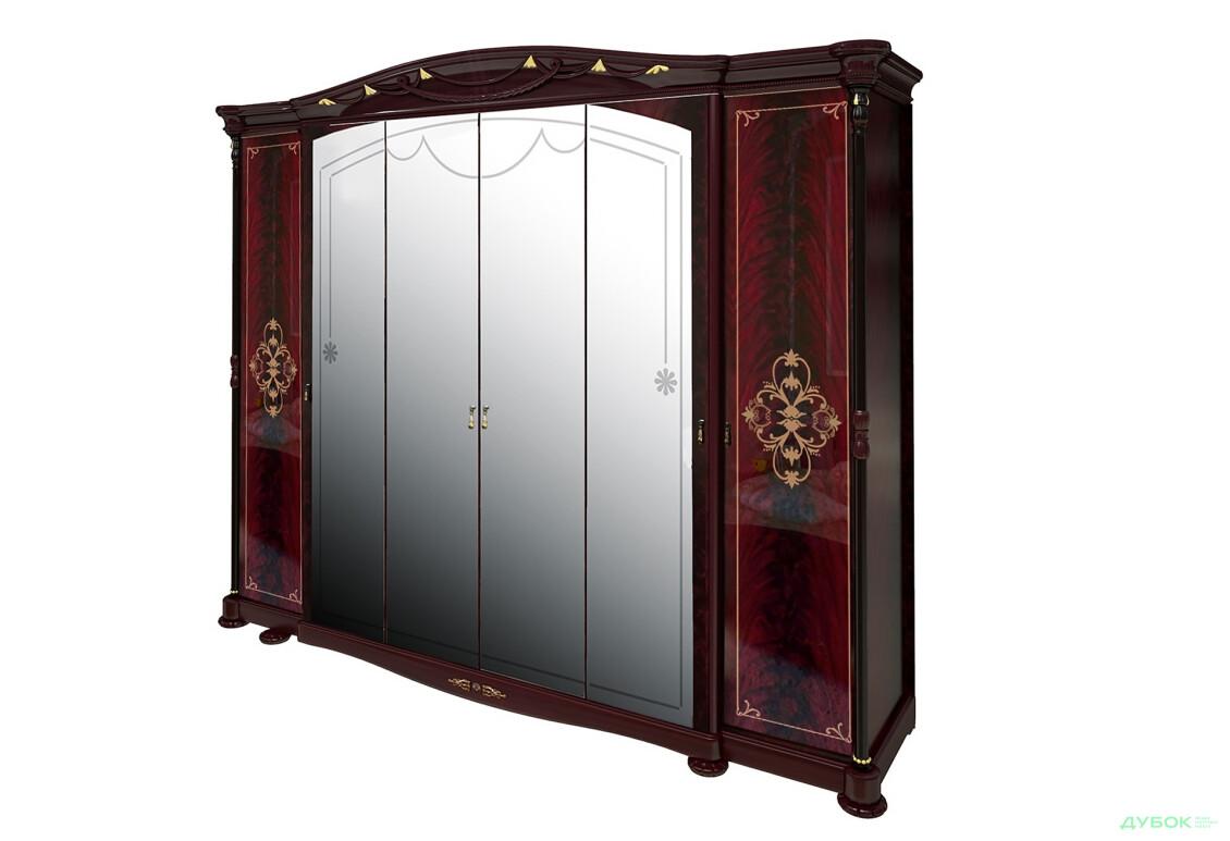 Модульная спальня Роселла Шкаф 6D  с зеркалами