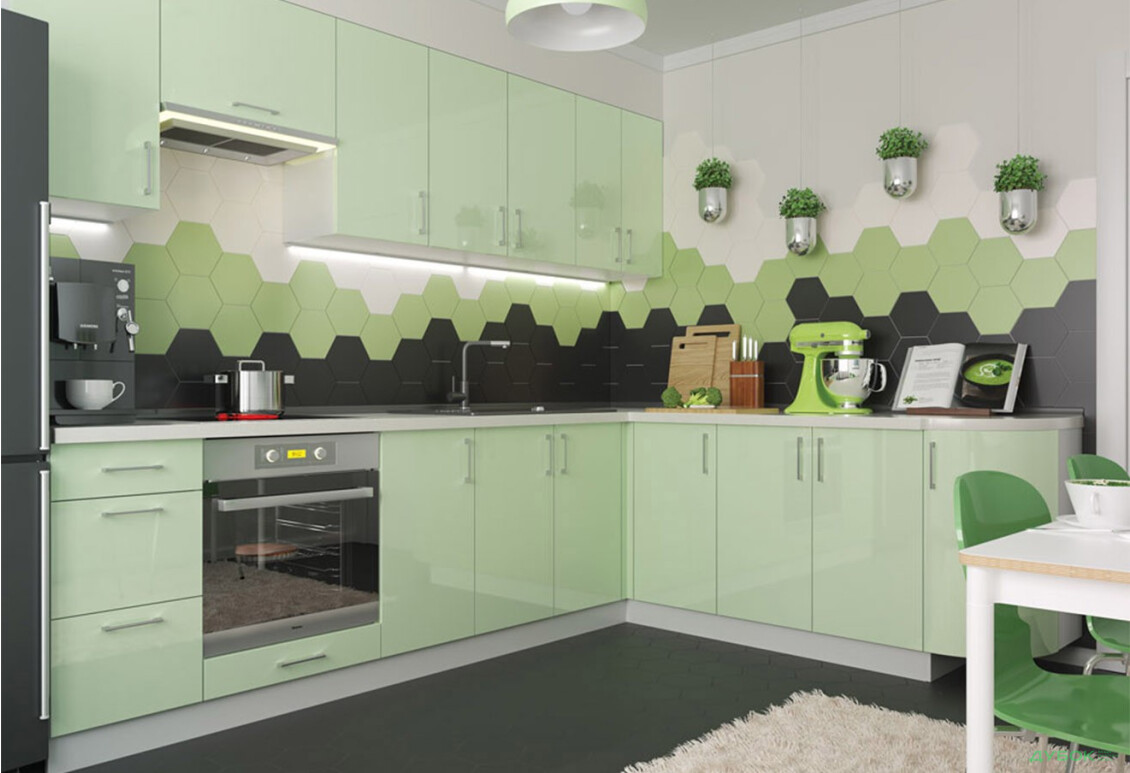 Модульная кухня Марго / Margo Комплект 2.8х2.1