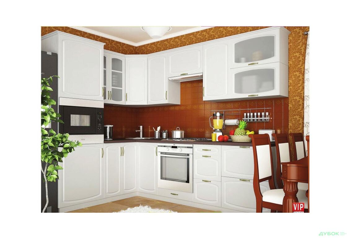 Кухню угловую маленькую  дубок