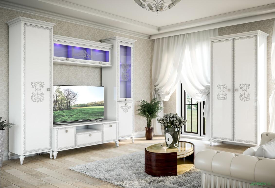 Модульная гостиная Вероника Комплект 2.7 + шкаф