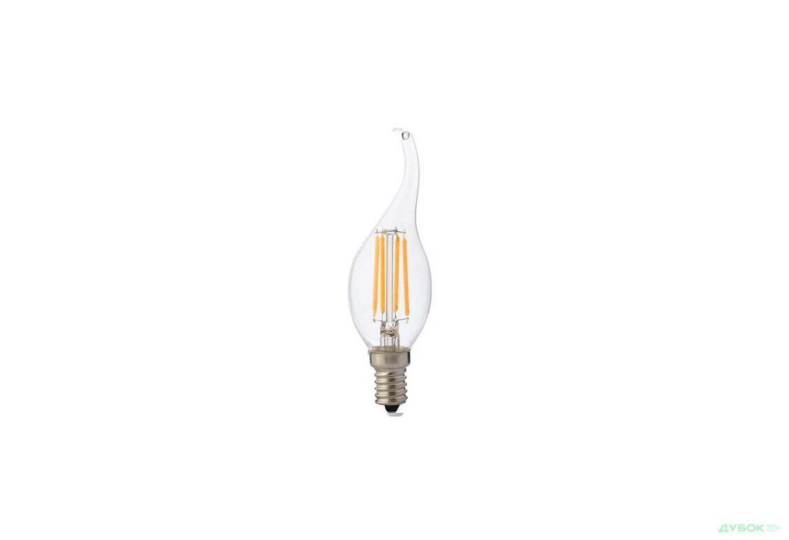 Лампа Filament Flame-4 4Вт свіча на вітрі Е14 2700К 001 014 0004
