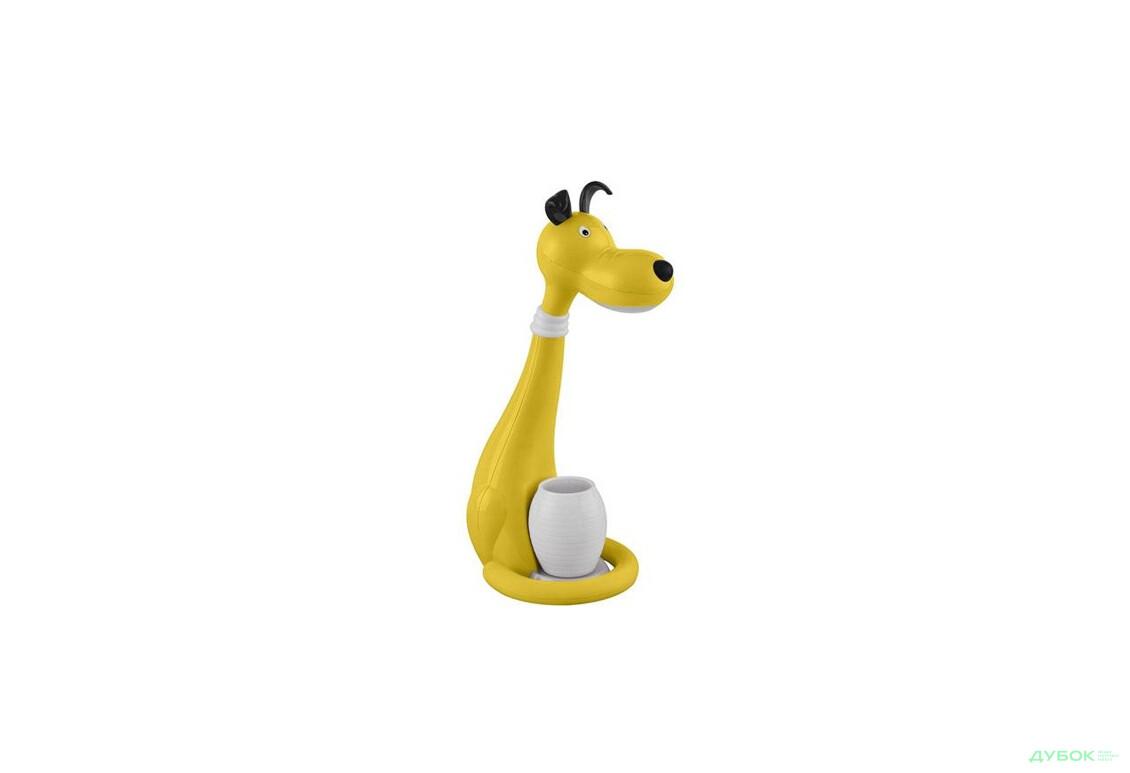 Настольний светильник Snoopy 6W желт. Собака димер. 049-029-0006