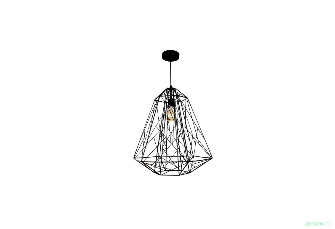 Підвіс WM-D1024/A чор E27 ST64+лампа