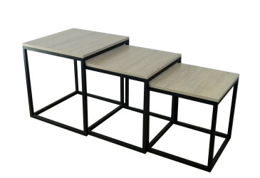 Журнальный столик Кубо Металл-Дизайн