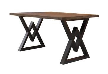 Обідній стіл Астон 750/1200/750 Метал-Дизайн