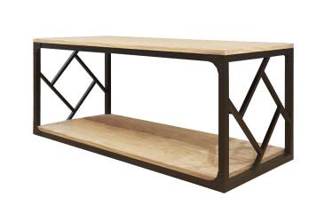Стол журнальный (серия Ромбо) Металл-Дизайн