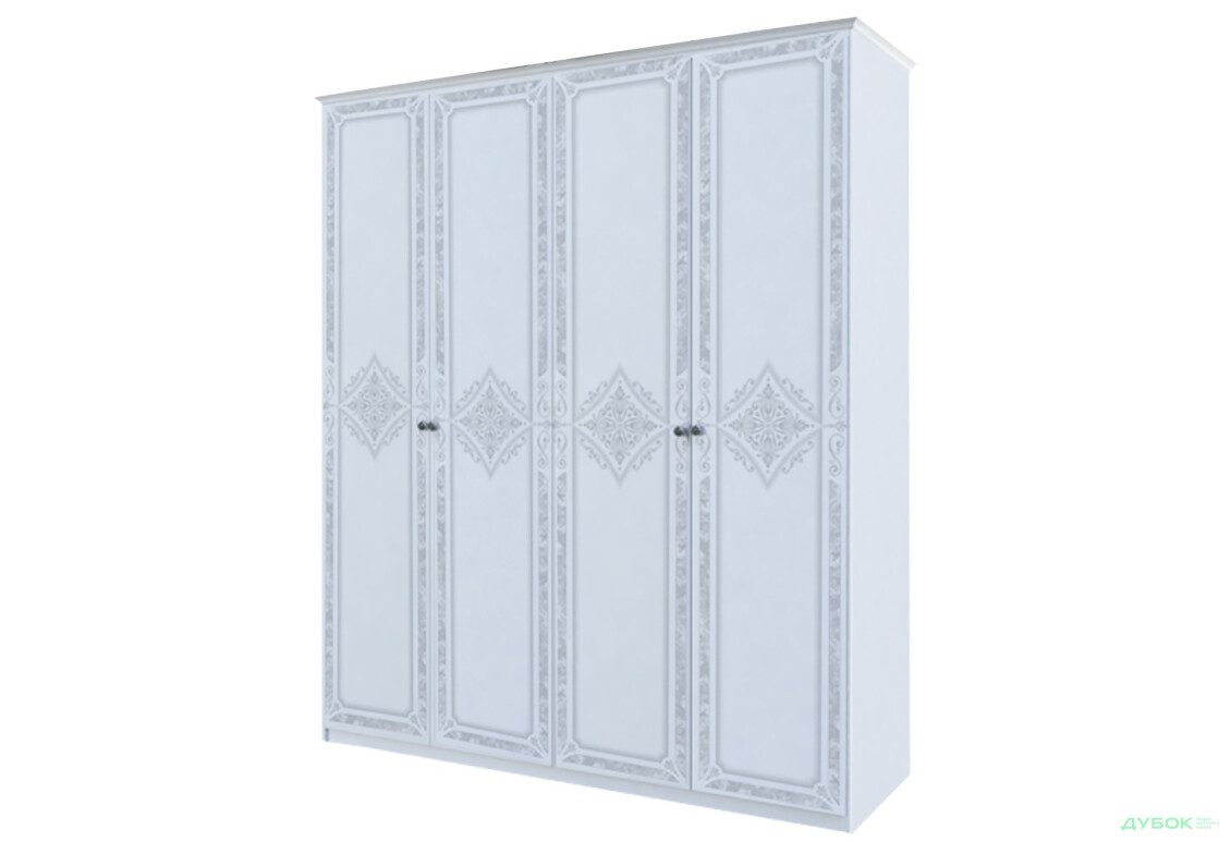 Модульна спальня Луїза Шафа 4Д (без дзеркал)