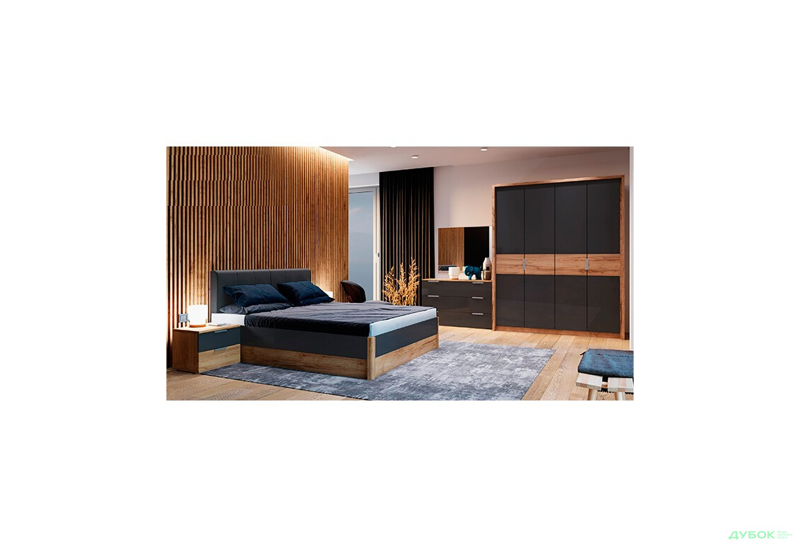 Модульная спальня Рамона Комплект 4Д