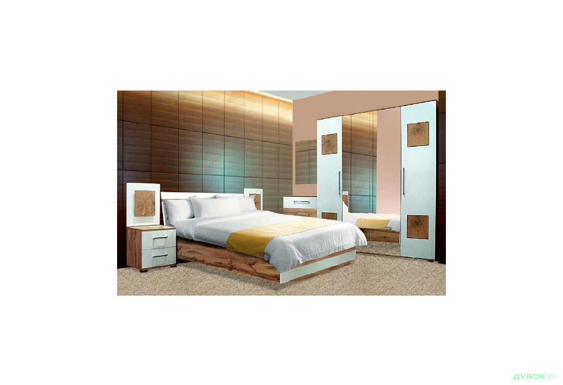Модульная спальня Вудс