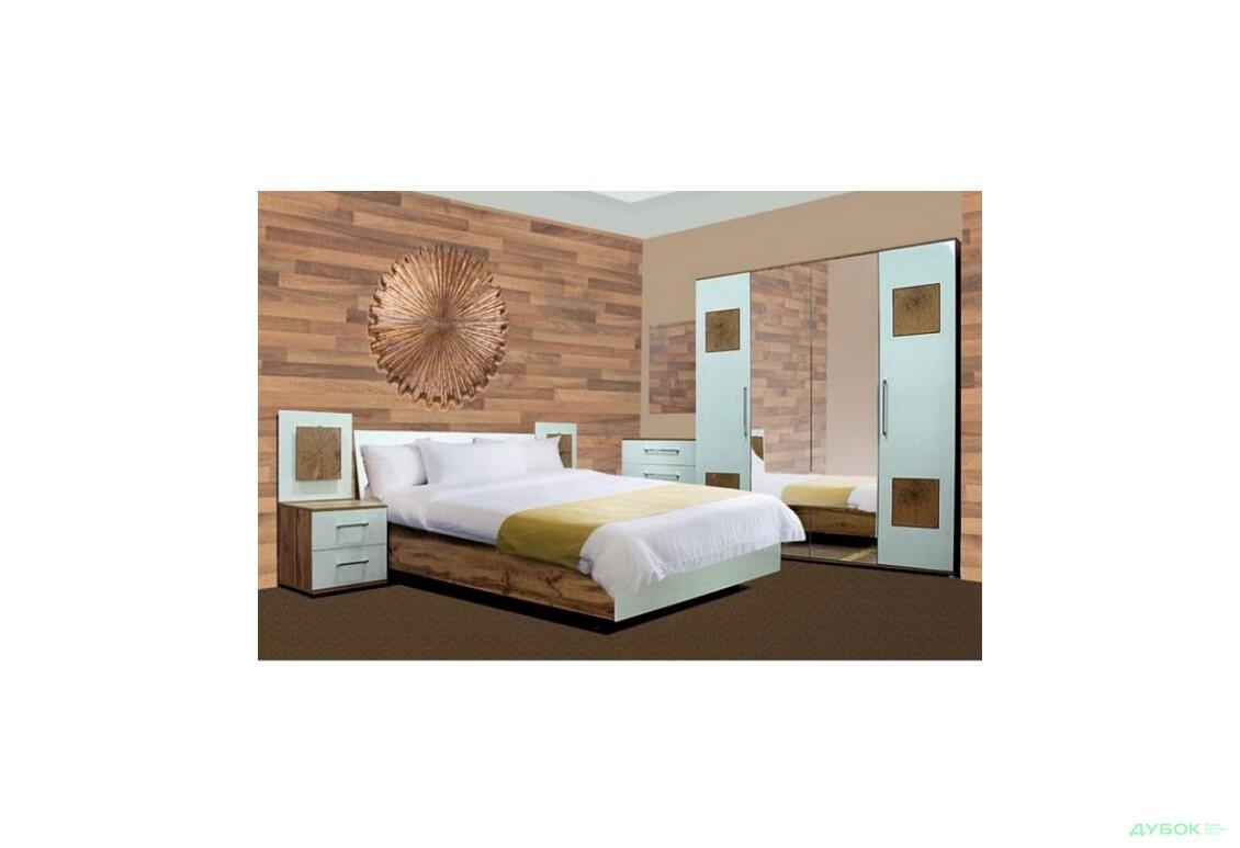 Модульная спальня Вудс Комплект 4Д