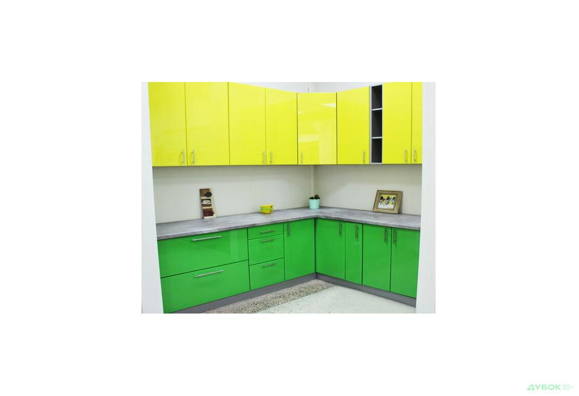 Модульная кухня Колор-міх / Color-mix SALE Комплект 2.2х1.6 Выставочная модель VIP-master