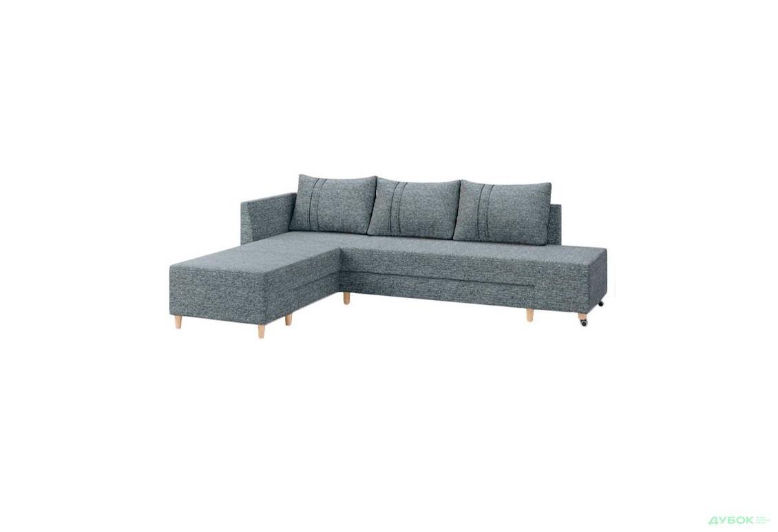 М'яка система Бронкс Кутовий диван (Дизайн IX: тк.Perseus 1088, кут 7)