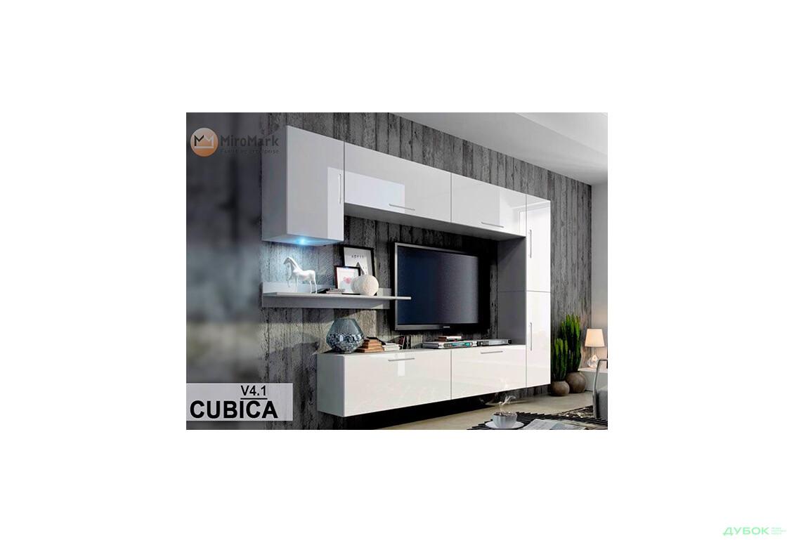 Модульная гостиная Кубика / Cubica Комплект В4 + ручки