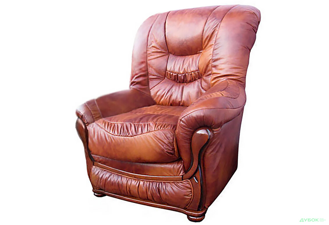 Кресло нераскладное Шкіра