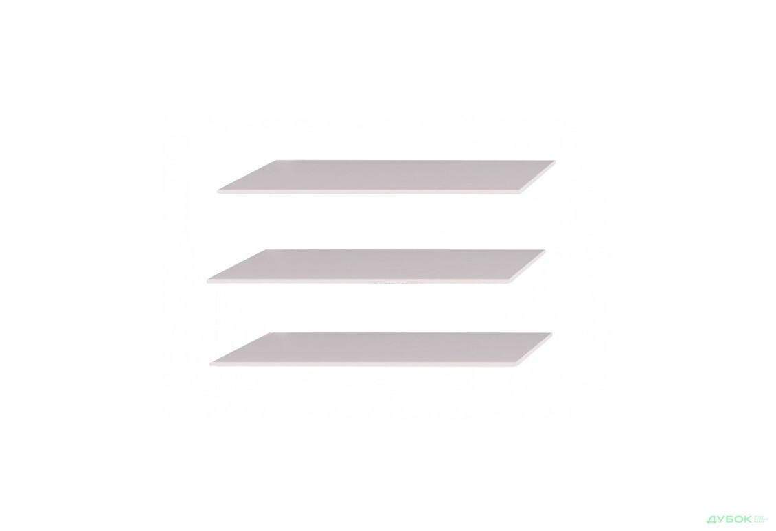 Опція Полиці довгі до шафи 6дв (Серія Т) (3шт) комплект