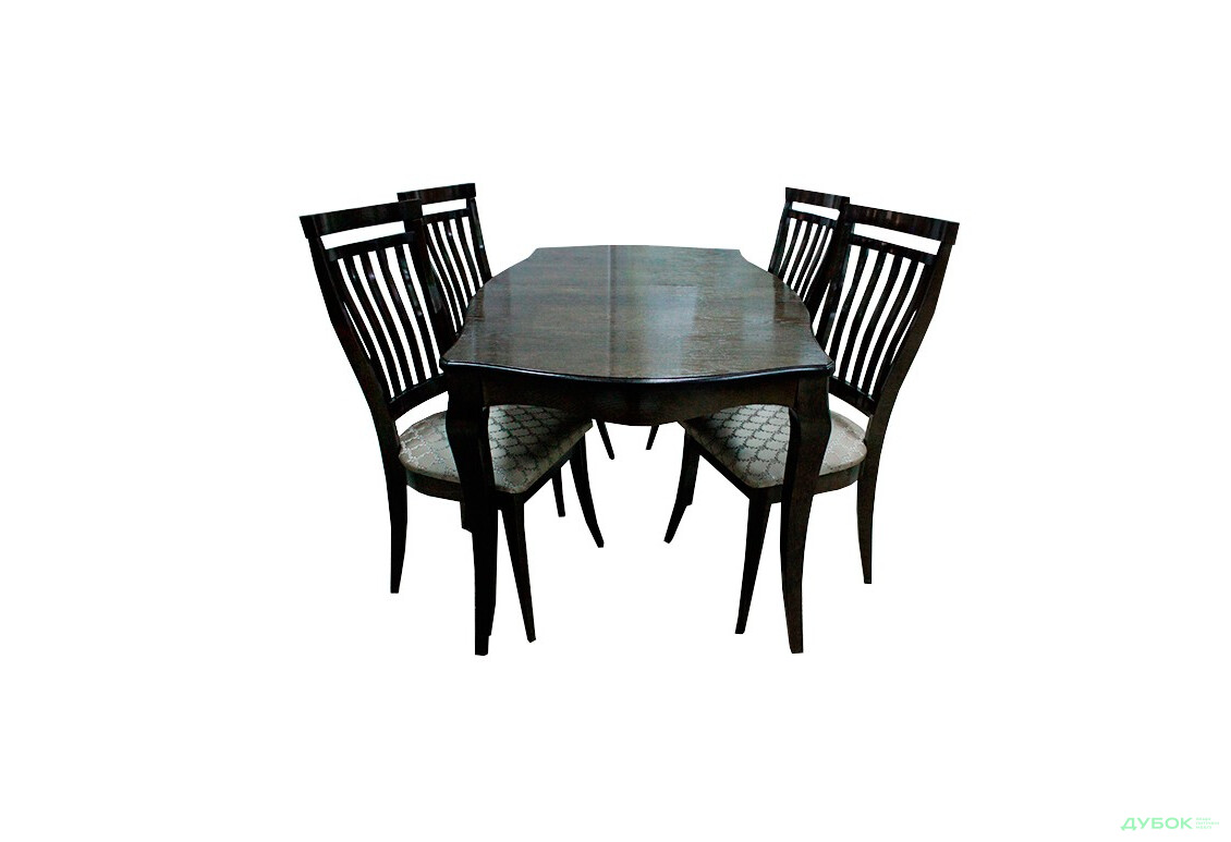 Стол Маркиз 160(+44)х92 + стулья Маркиз-2/4шт