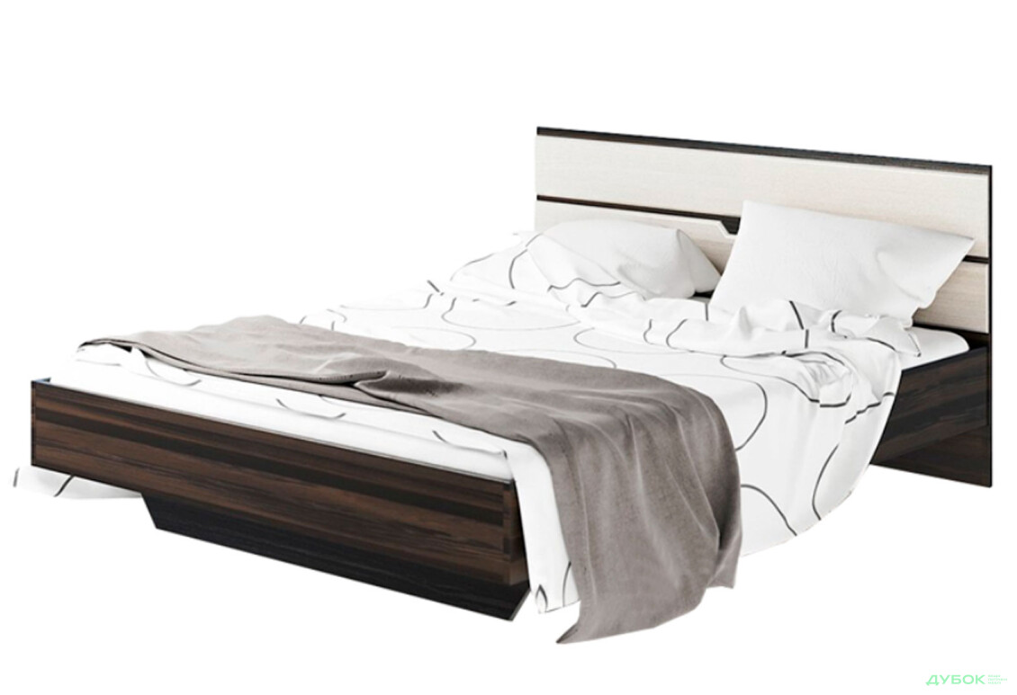 Модульная спальня Мария Кровать 2-сп (б/матраса та каркаса)