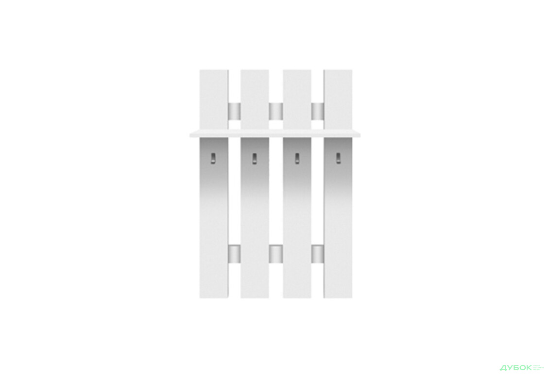 Модульная система Топ-микс Дуб сонома/белый Вешалка WIE/80