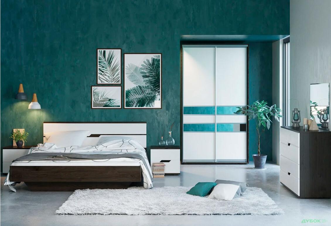 Спальня Мария Комплект со шкафом-купе 2Д