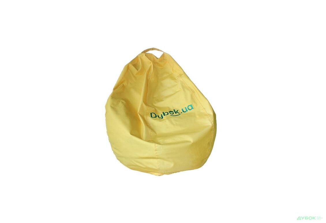 Груша 80х120 Оксфорд ТК, желтого цвета с логотипом зелёного цвета