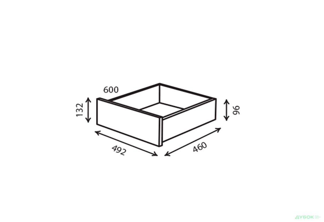 Шкаф-купе 2Д 1.5 м Шухляда 600