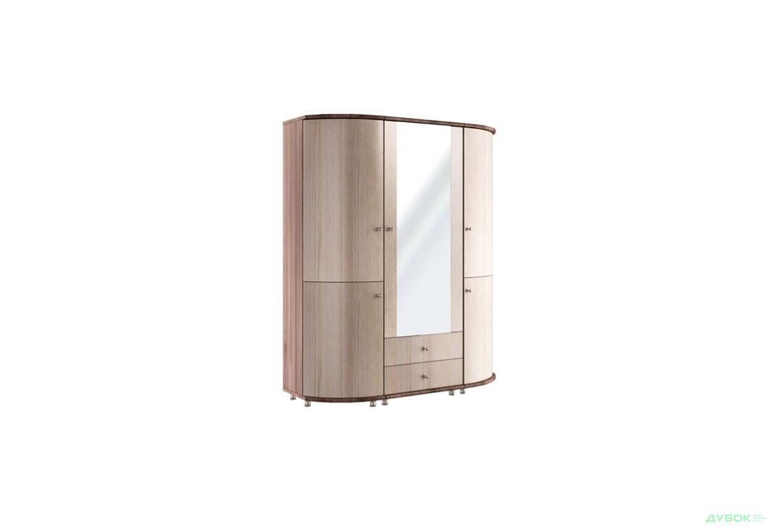 Шкаф 3Д скругленный