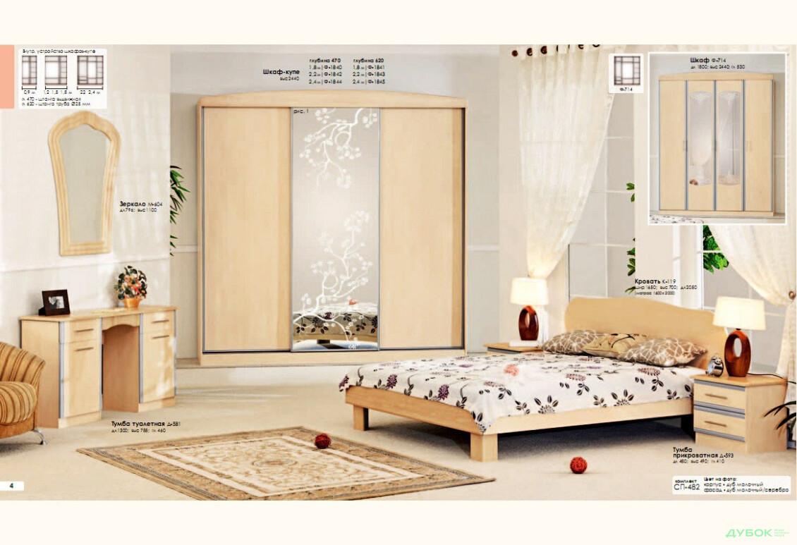 Модульная спальня Серия Софт