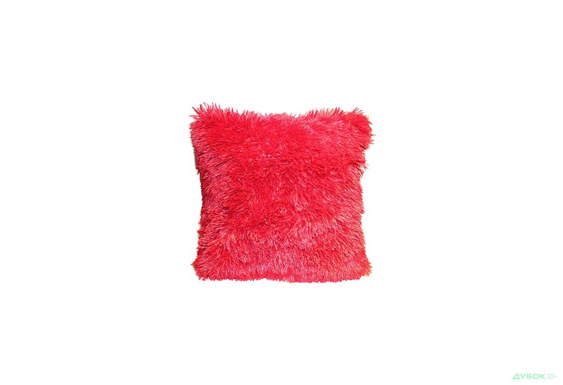 Подушка 40х40 Холофайбер Красный
