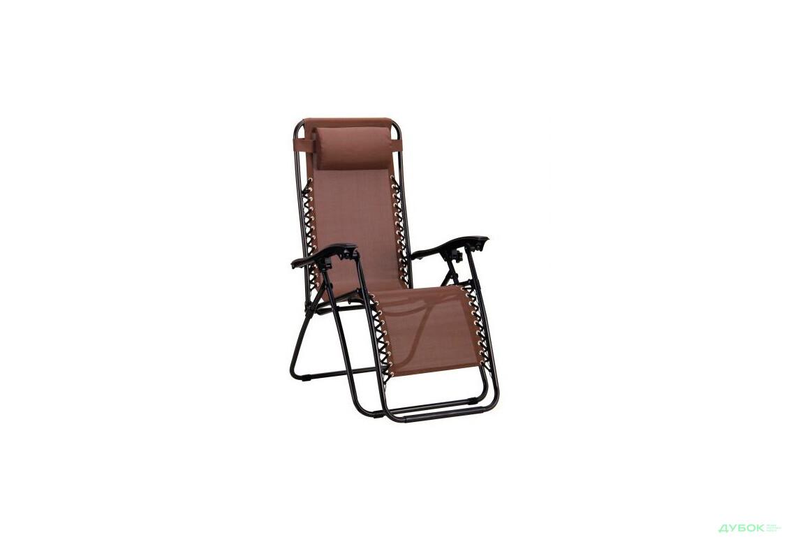 Колекція Summer Camp Шезлонг Релакс чорний/коричневий, арт.519704
