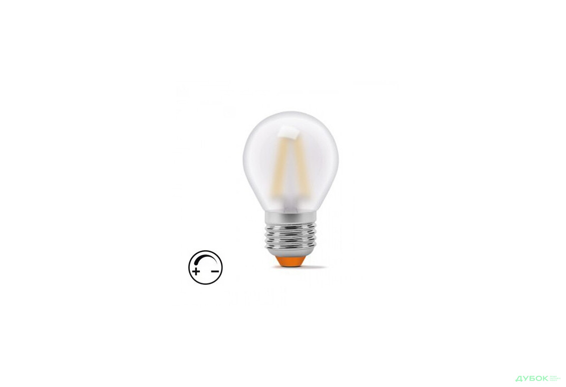 LED Filament G45FMD 4W E27 4100K 220V диммерна