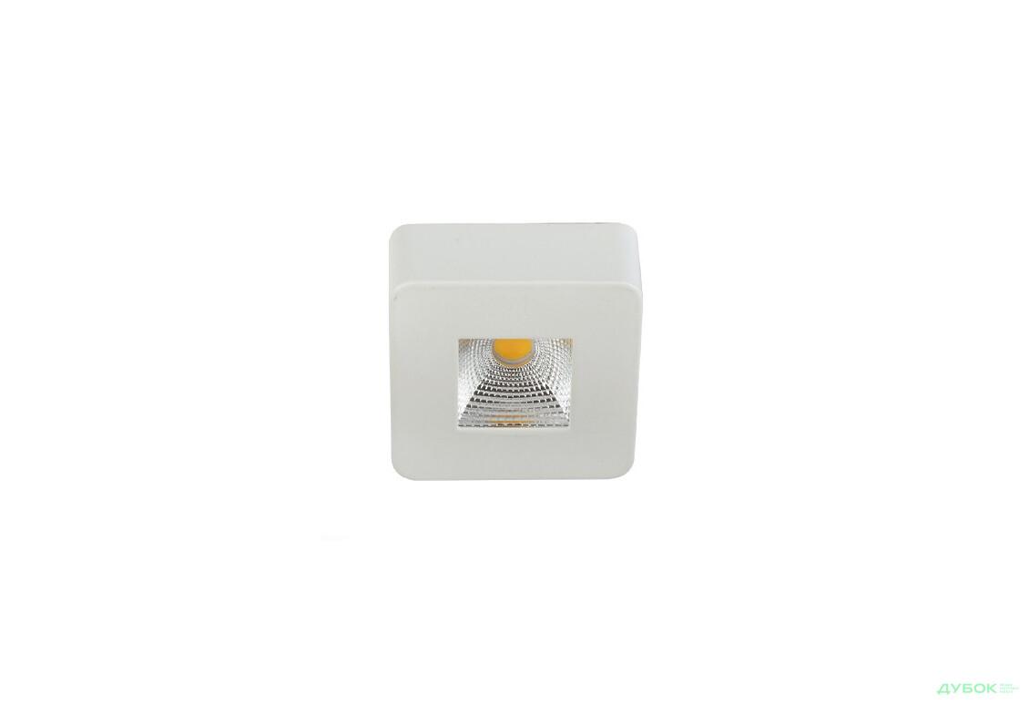 SALE Світильник LED НББ EVA-6 5W 6500K 450LM квадрат Виставковий