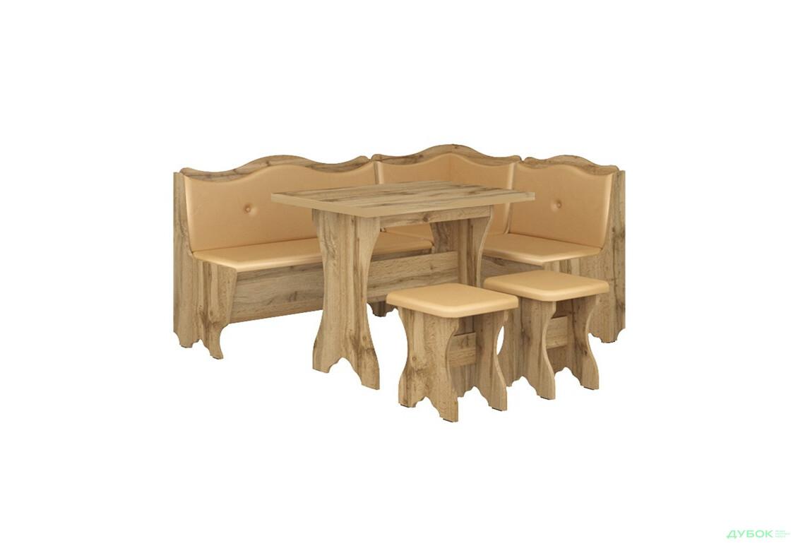 Кухонний куточок Герцог (з прост.столом) Дуб тахо