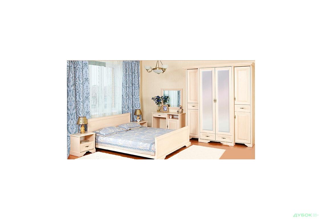 Спальня Олеся Комплект 4Д з туалетним столиком