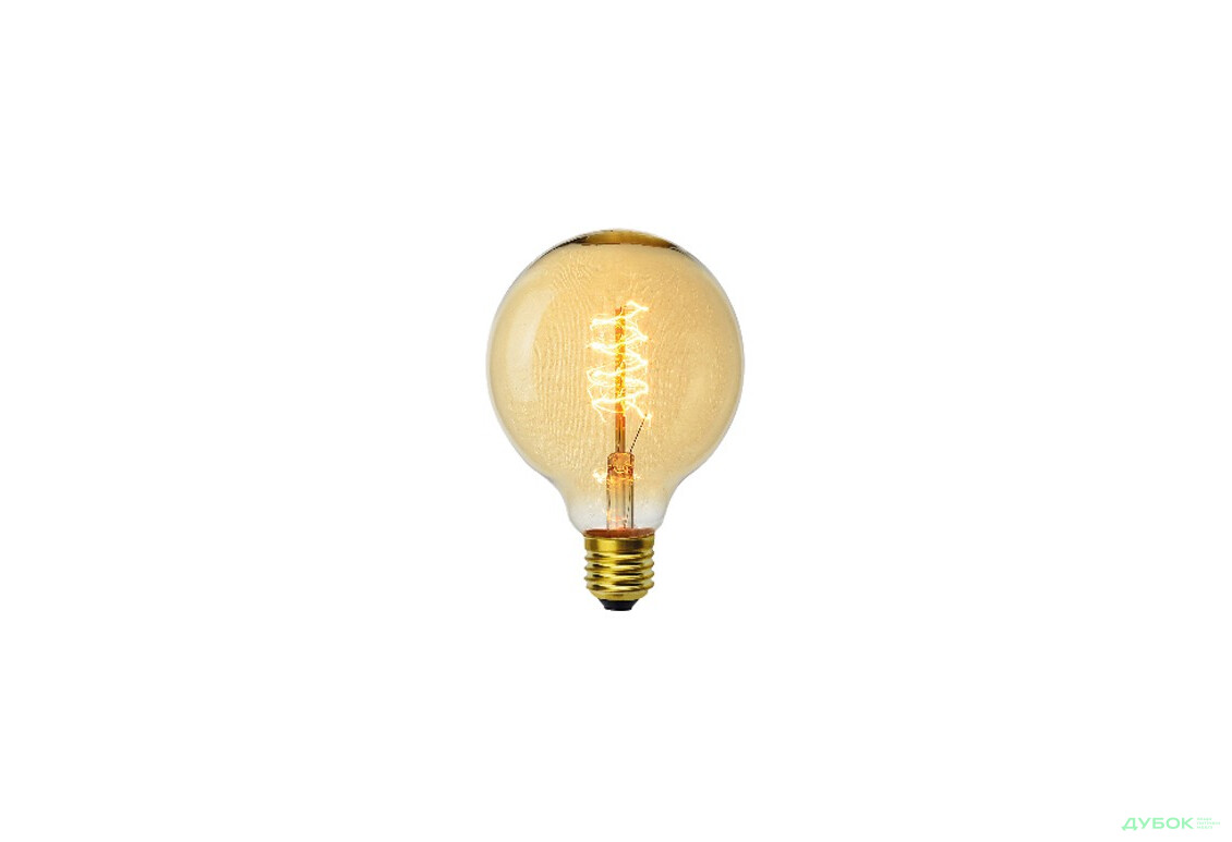 SALE Лампа декоративная Эдисона G95 шар E27 40W VITO