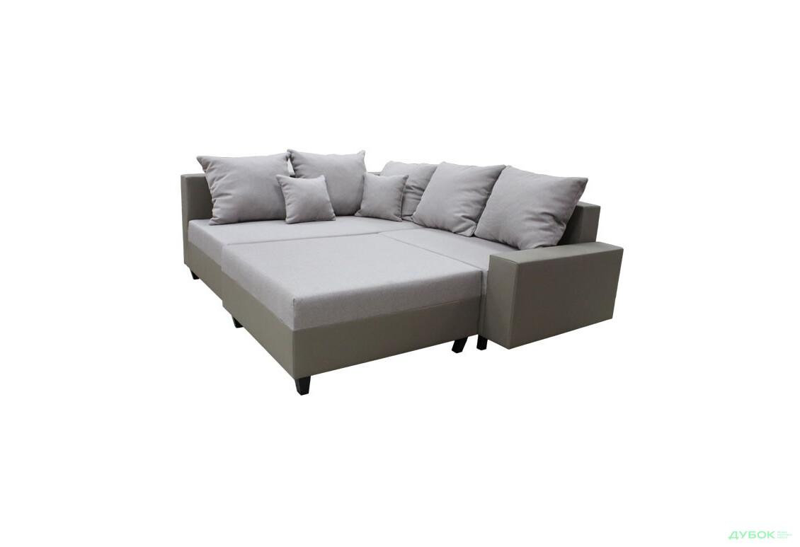 Мягкий уголок УЦЕНКА Таймаут (тк.1-D-AC 15, тк.2-D-AA 926, 7), Повреждена обивка по периметру дивана