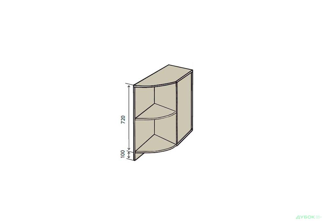 Н17R Полки угловые