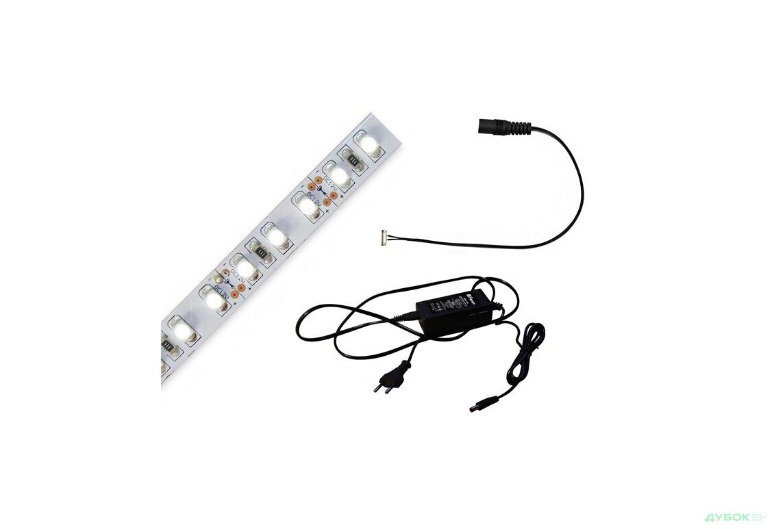 Led-подсветки для кухни Комплект: лента LS612 12V белый, БП60W вилка, соеденитель