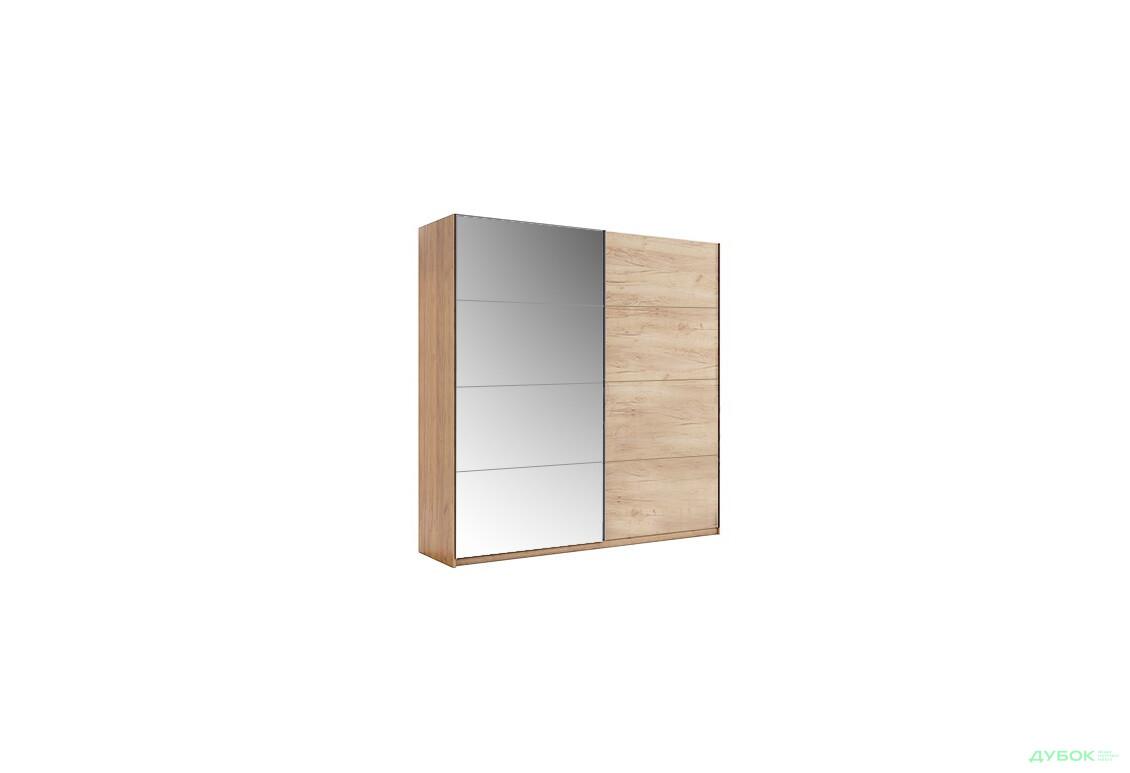 Модульная спальня Ники Шкаф-купе 2.0 Дуб Крафт/Зеркало