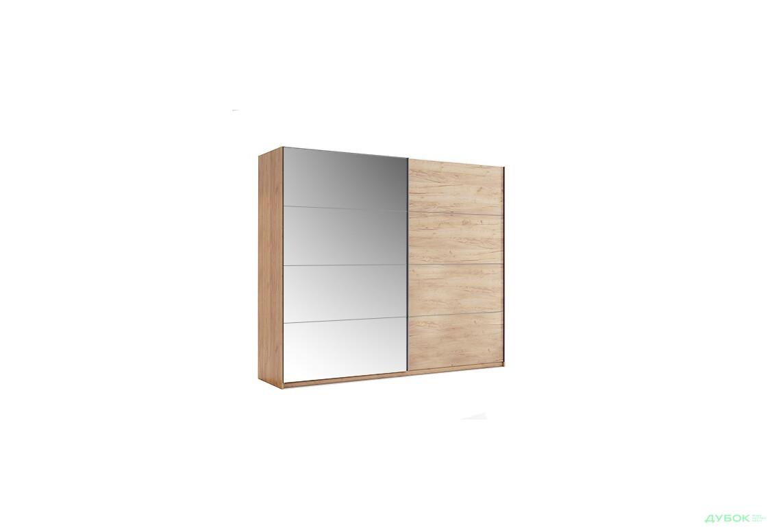 Модульная спальня Ники Шкаф-купе 2.5 Дуб Крафт/Зеркало