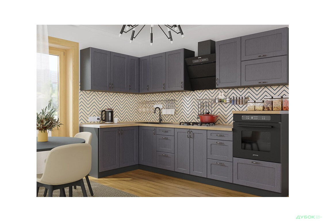 Модульная кухня Модена Угловая кухня 1.4x3.0