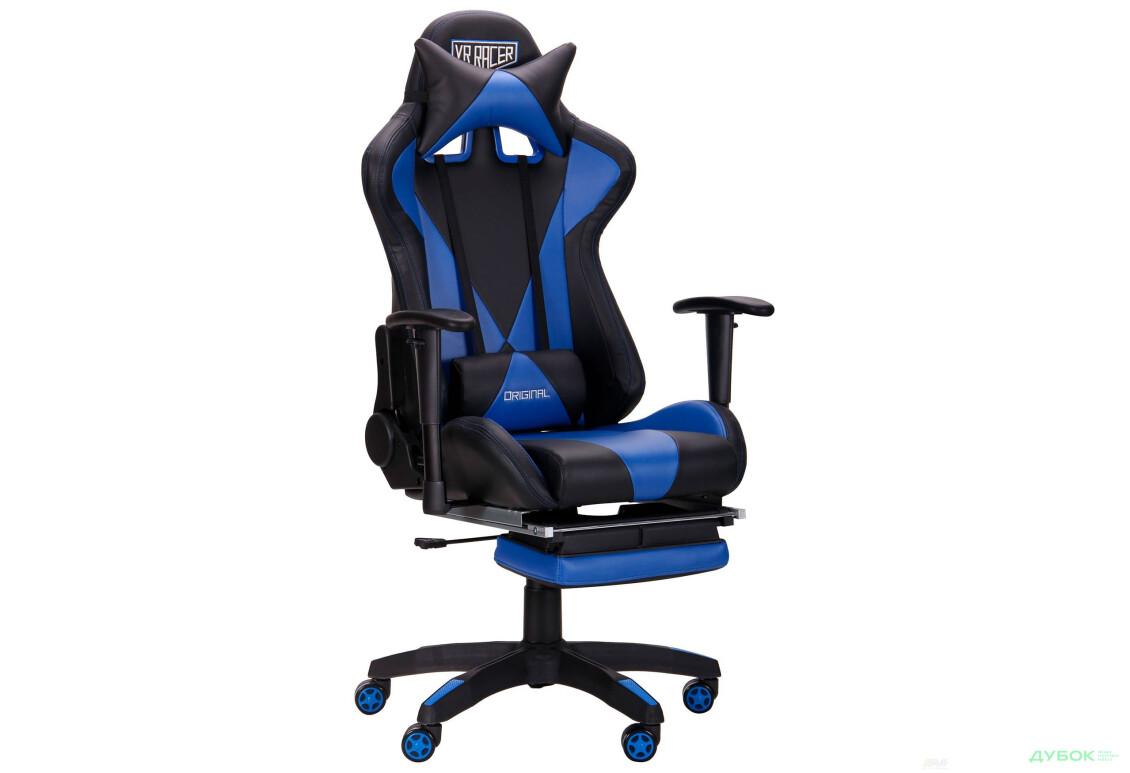 Крісло VR Racer Magnus Tilt, Relax, оббивка екошкіра PU, арт.515277