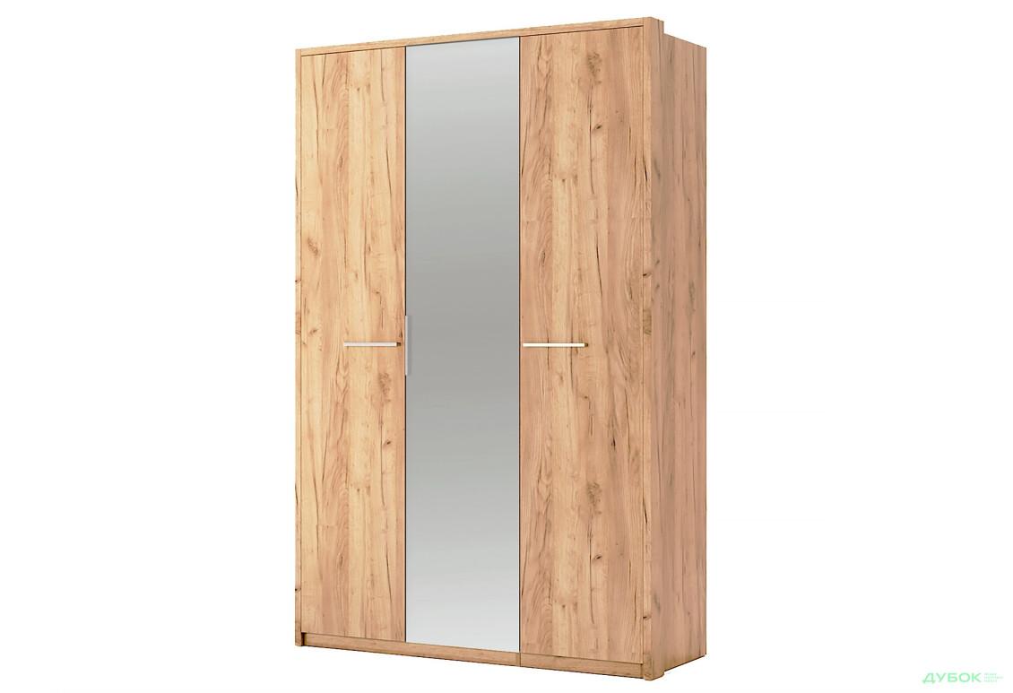 Модульна спальня Нікі Шафа 3Д із дзеркалом Дуб крафт