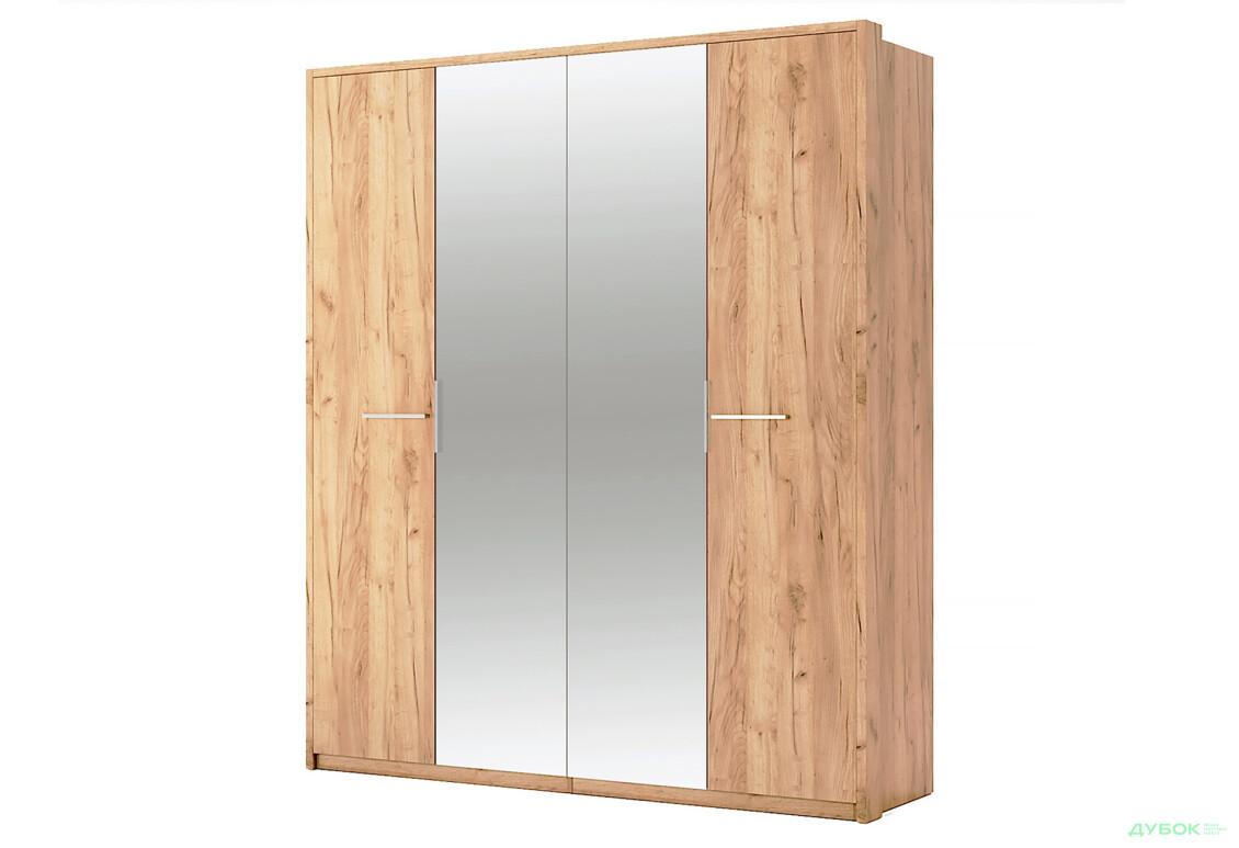 Модульна спальня Нікі Шафа 4Д із дзеркалом Дуб крафт