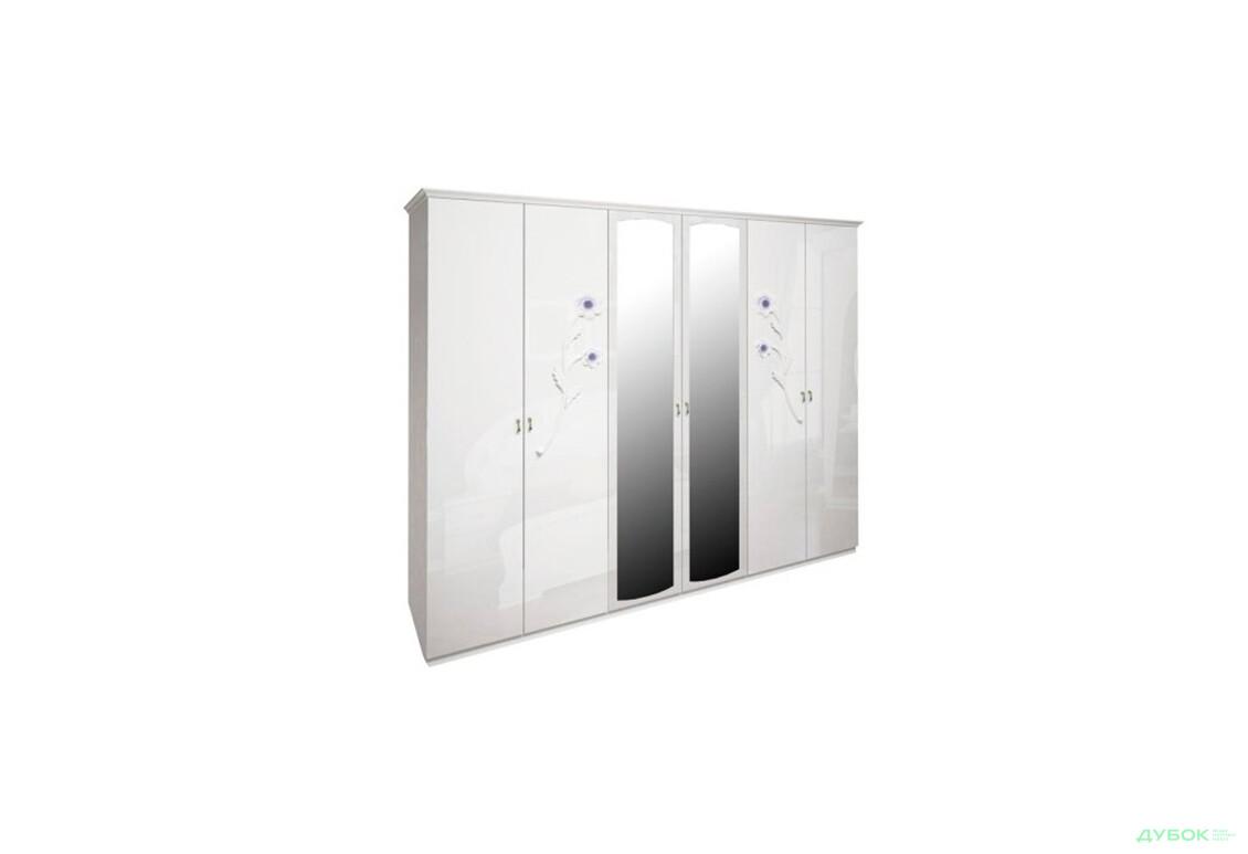 Шкаф 6D  с зеркалами