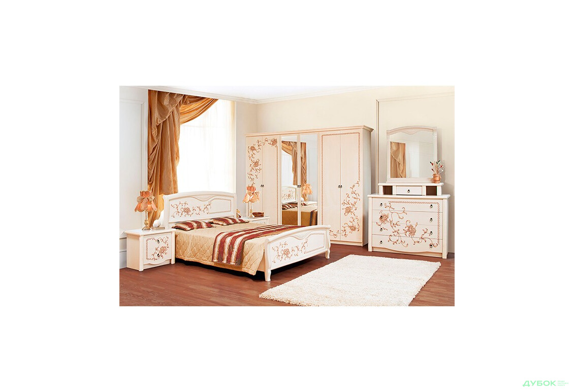 Модульная спальня Ванесса