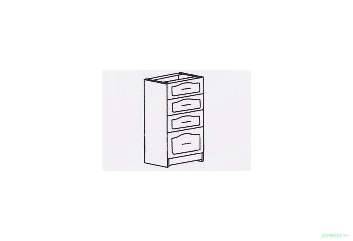 Оля Тюльпан Шкаф-стол 400 (шухляды) СШ-409