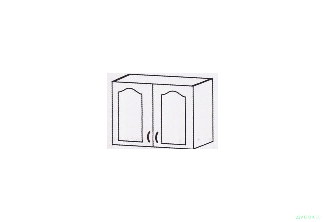Оля Тюльпан Шкаф-настенный 800 ШКН-609