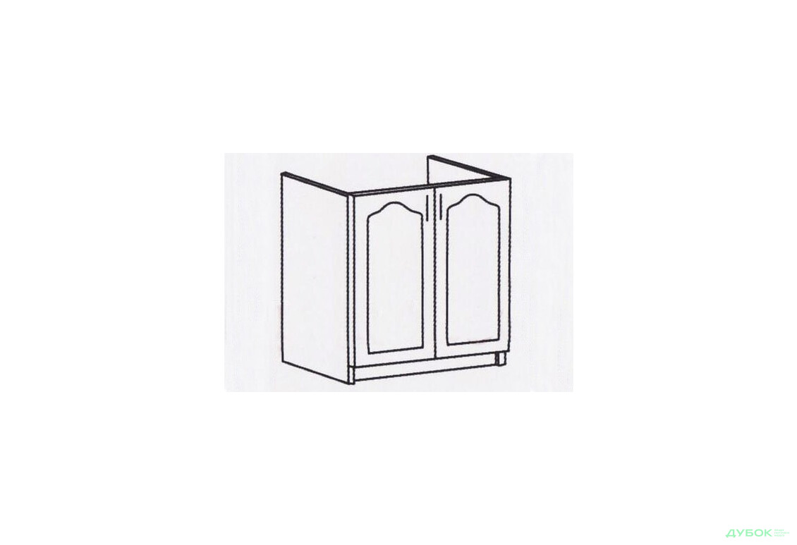Оля Тюльпан Шкаф-стол 800 (мойка) ШМ-167