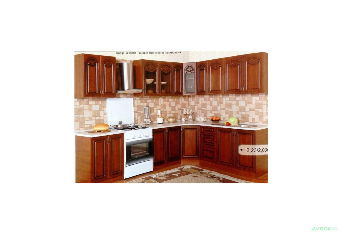 Модульная кухня Оля Патина